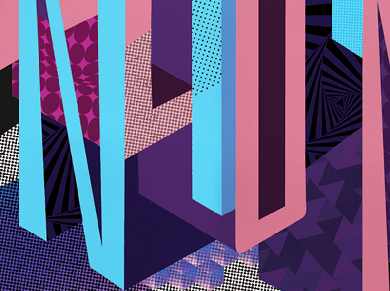 NEON Festival Poster Design