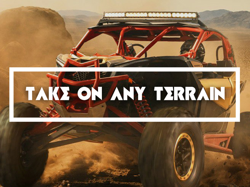 Take On Any Terrain